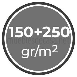 150+250 gramos