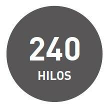 algodon 240 hilos de icelans