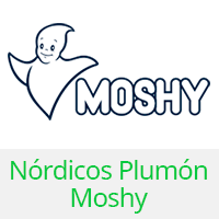 nordicos plumas moshy