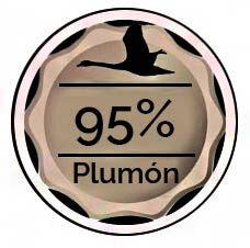 plumon de oca al 95%