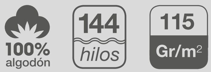 sabanas de algodon 144 hilos