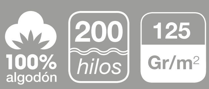 sabanas de algodon 200 hilos