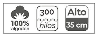 sabana bajera 300 hilos
