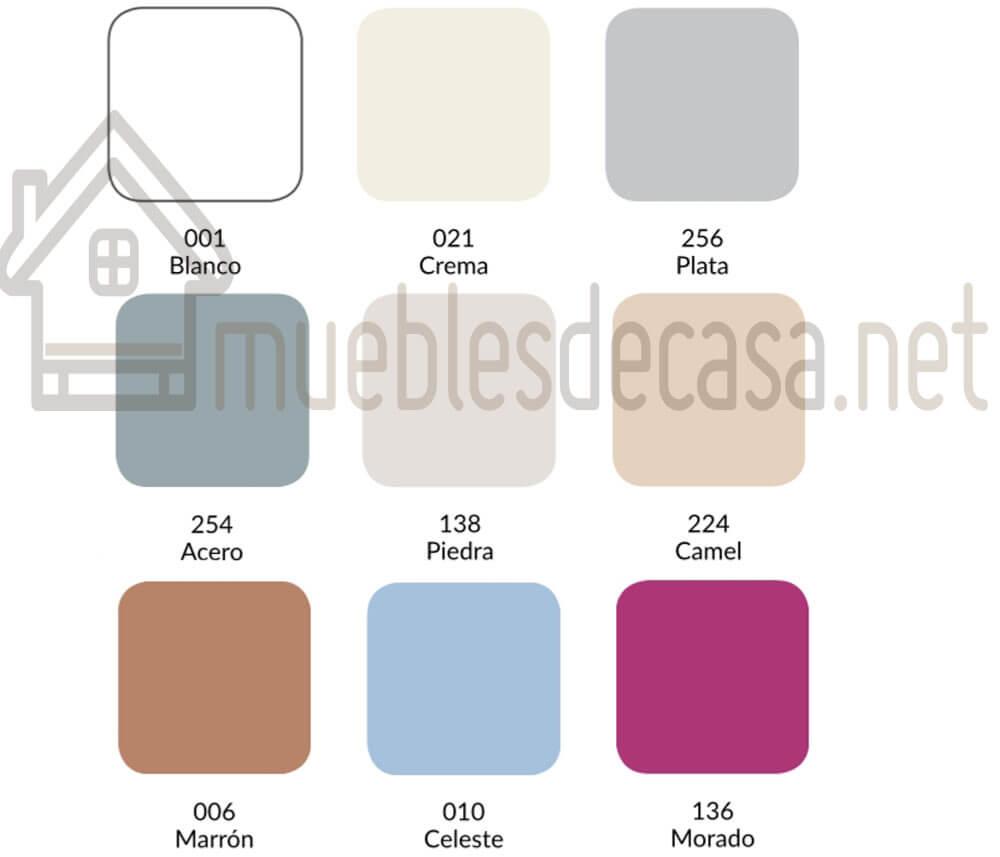 Colores Funda de Almohada Combi 144h