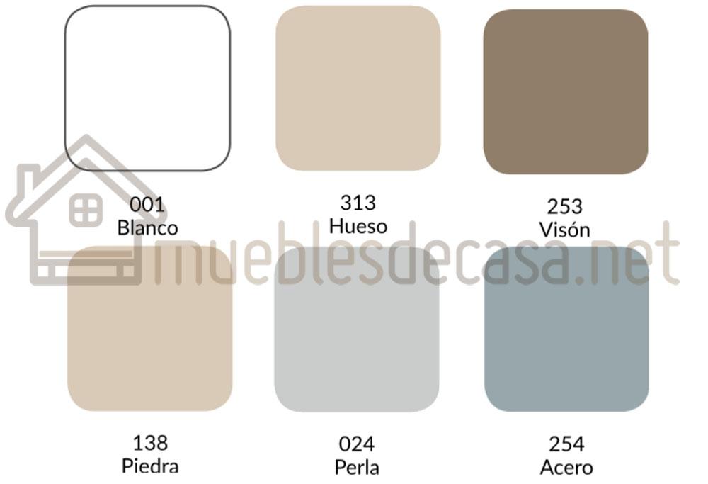 Colores Funda Almohada Combi 200h