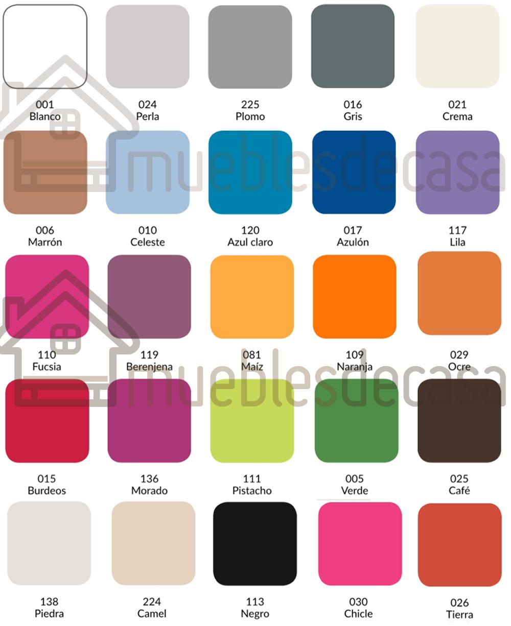 Colores Sábana Bajera Combi 144h