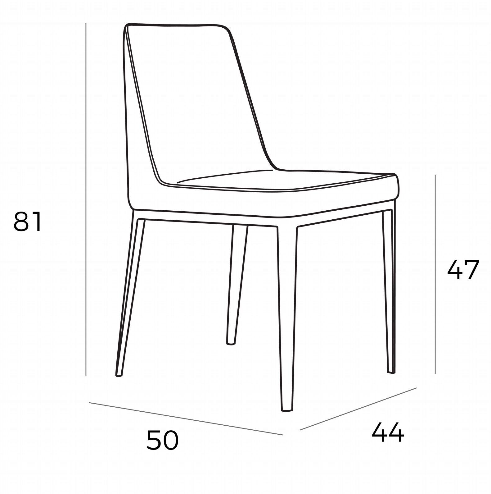 medidas silla angel cerda a-107