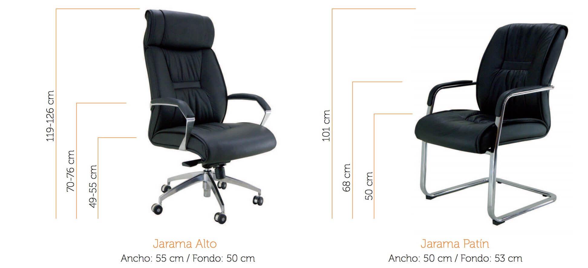 silla de oficina jarama vincolo
