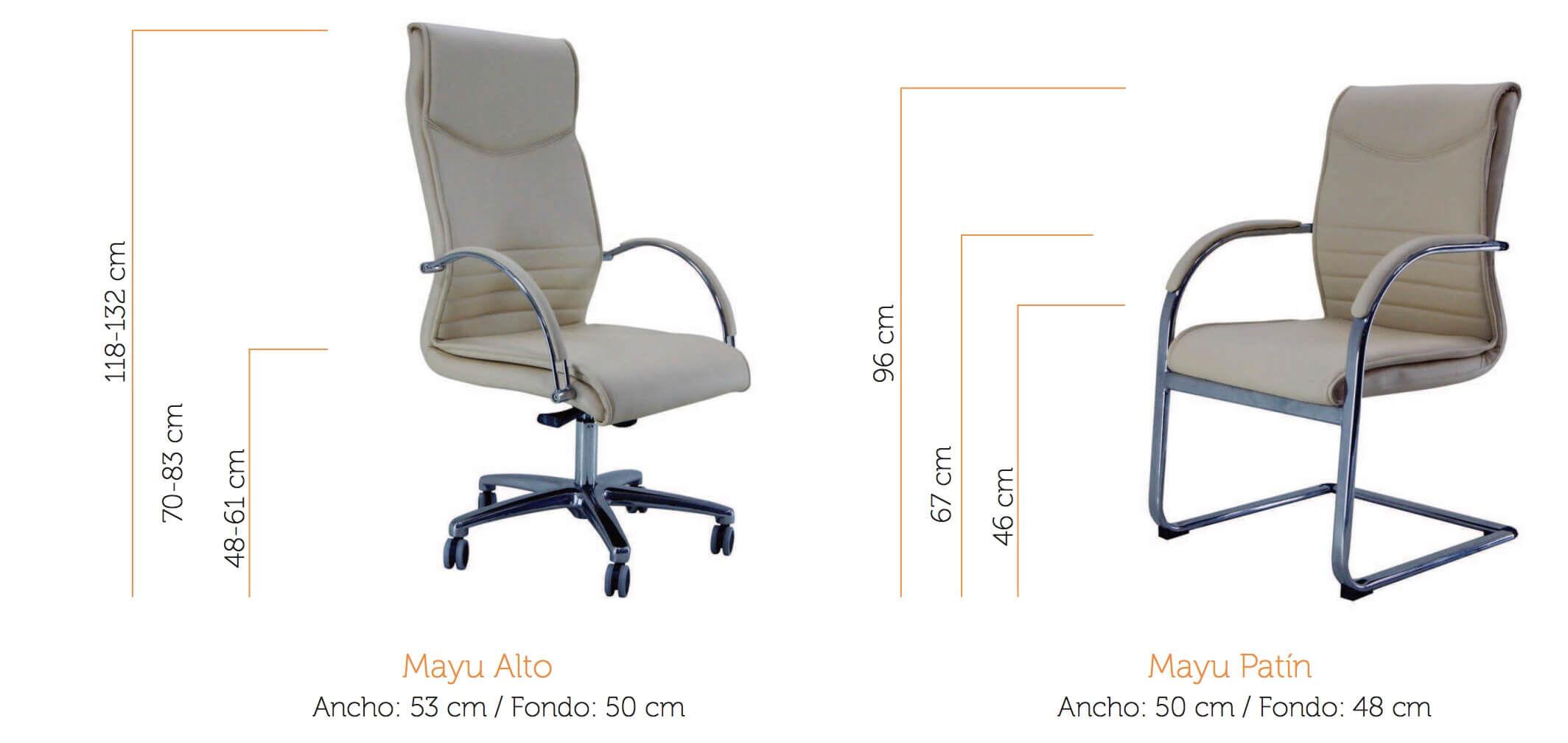 silla de oficina mayu vincolo