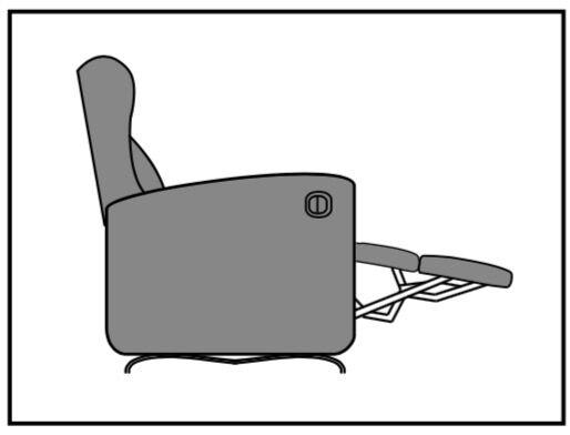 apertura manual con palanca
