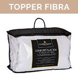 topper termorregulador fibra