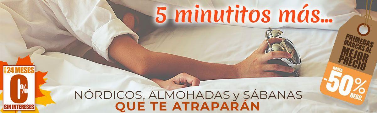 5 minutitos más... Nórdicos, sábanas y almohadas que te atraparán