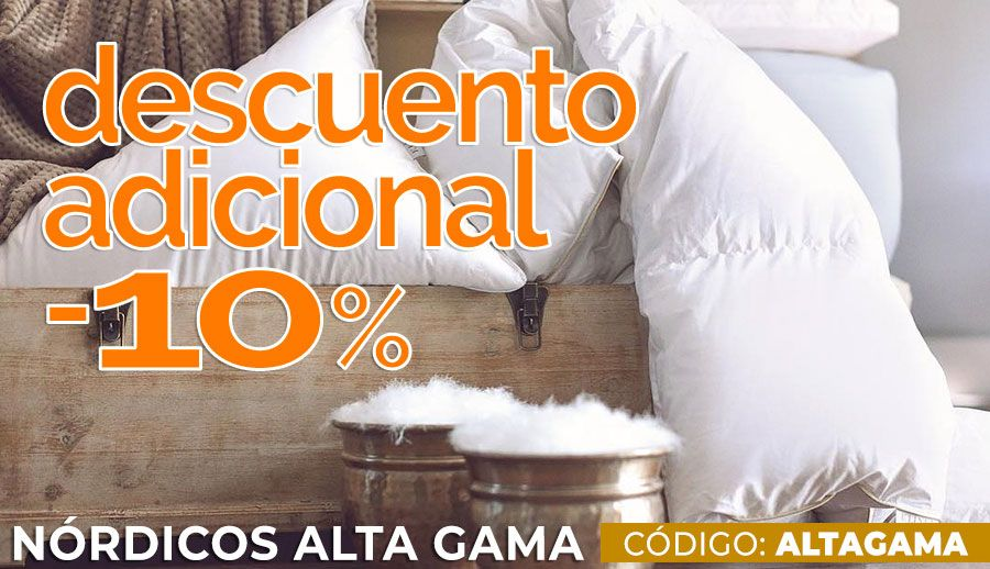 10% Descuento Adicional · Nórdicos Alta Gama