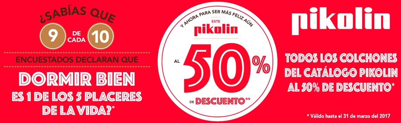 Promoción Pikolin 17